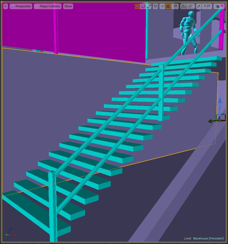 player sticking on stair steps - Unreal Engine Forums